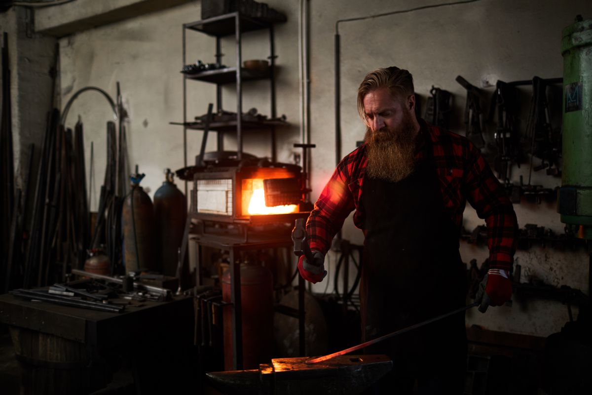 types of blacksmith forges
