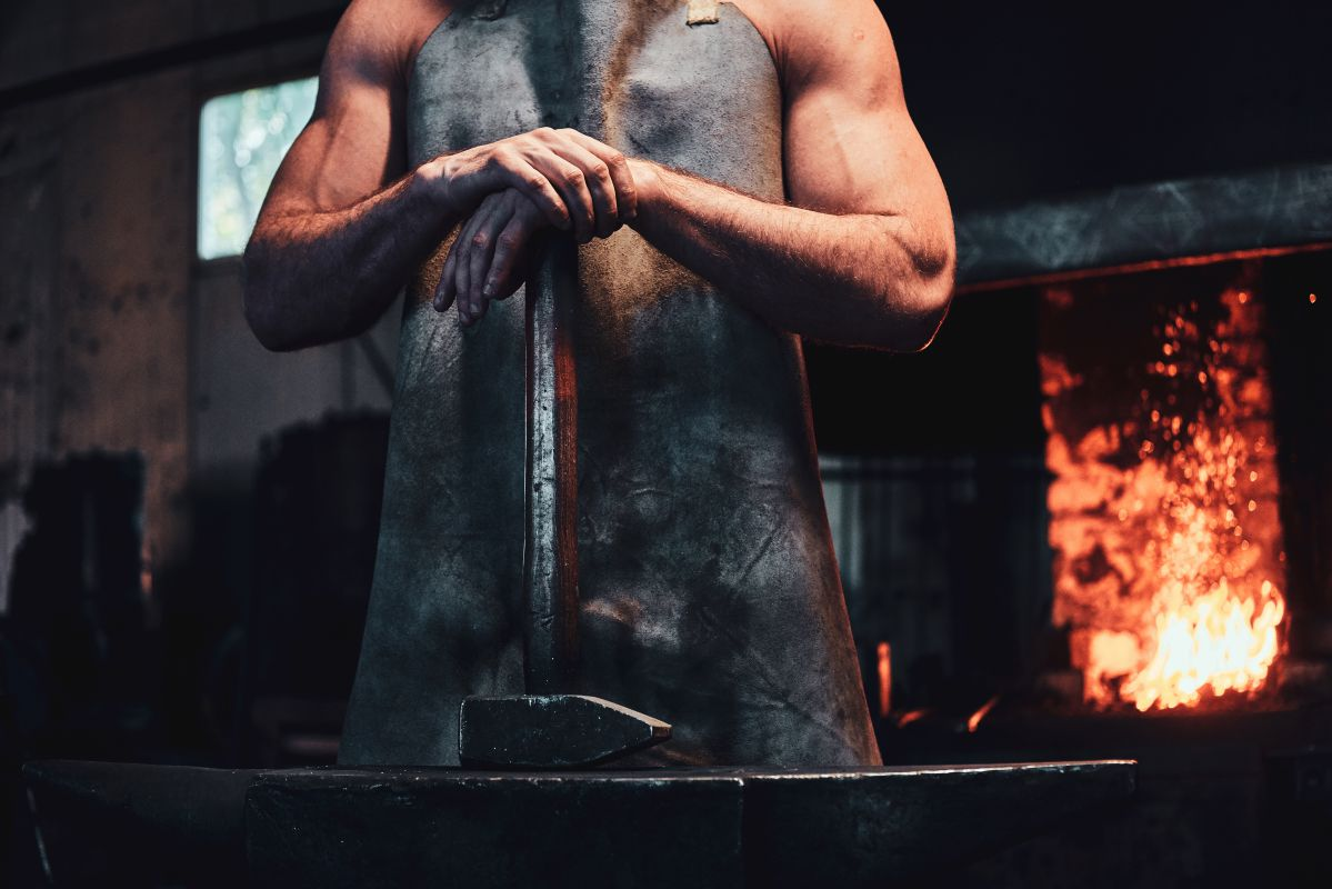 best blacksmith apron