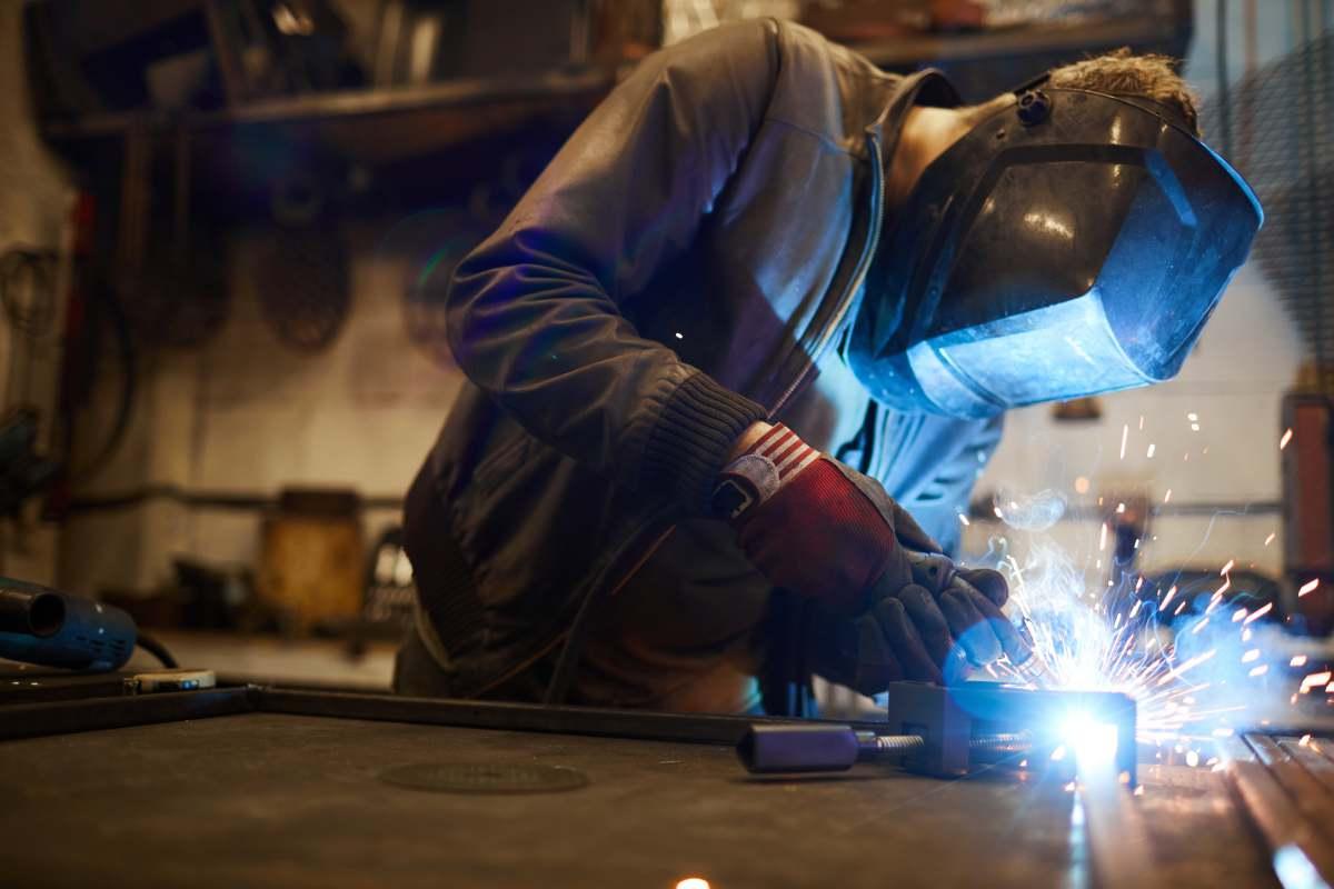 how do you weld cast iron